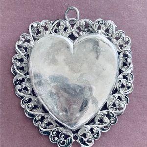Jewelry - Antique Sterling Heart Locket ❤️